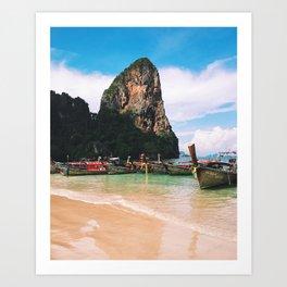 Thailand Beach Art Print