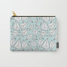 Paper Airplanes Mint Carry-All Pouch