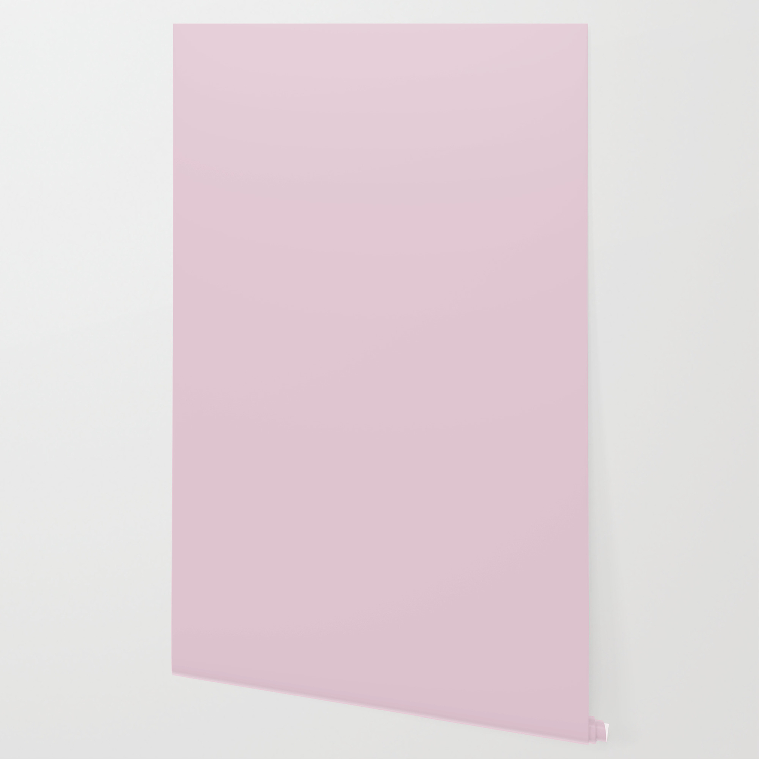 Queen Pink Solid Color Wallpaper By Makeitcolorful Society6
