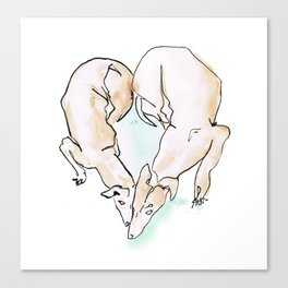 MUST LOVE DOGS! Canvas Print