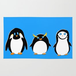 Penguin Brother From Another Mother Rug