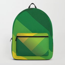 Stripes (green/yellow) Backpack