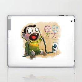 Babies like to bite stuff Laptop & iPad Skin
