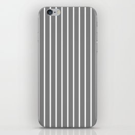 Vertical Lines (White/Gray) iPhone Skin