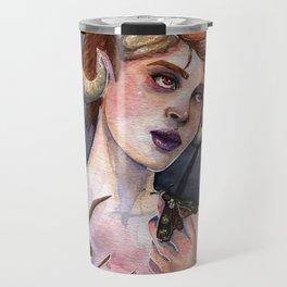 Queen of Moths Travel Mug