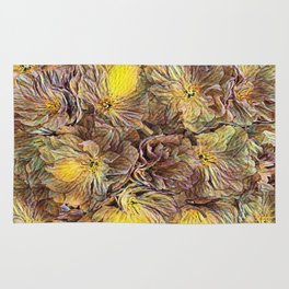 Flowers Galore - Painterly Rug