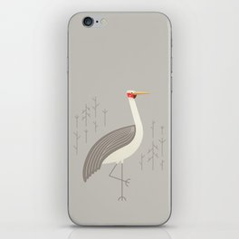 Brolga, Bird of Australia iPhone Skin