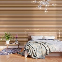 Coffee color stripes Wallpaper