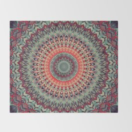 Mandala 300 Throw Blanket