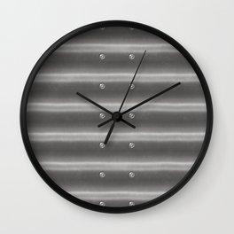 Corrugated Iron Wall Clock