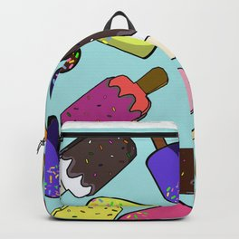 Popsicle Icecream Pattern Home Wall Art Decoration Modern Minimal Style Backpack