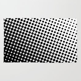 Black and White Pattern I Rug