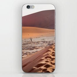 Leave only foortprints iPhone Skin