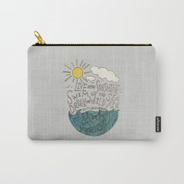 Emerson: Live in the Sunshine Carry-All Pouch
