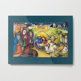 Peace on Earth 2017 Metal Print