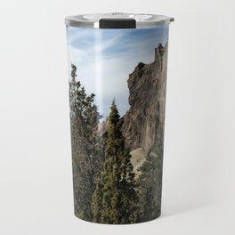 Rocky and Snowy Peaks Travel Mug
