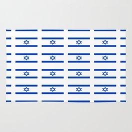 flag of israel 2 -יִשְׂרָאֵל ,israeli,Herzl,Jerusalem,Hebrew,Judaism,jew,David,Salomon. Rug