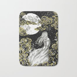 The Stargazer's Dream Bath Mat