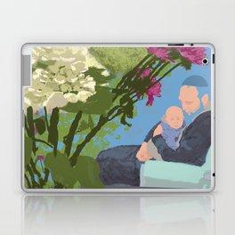 David, Lyova, and Flowers Laptop Laptop & iPad Skin