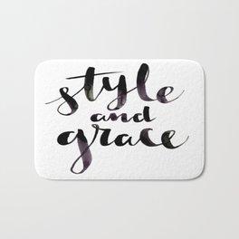 Style and Grace Bath Mat