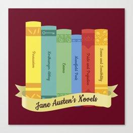 The Jane Austen's Novels IV Canvas Print