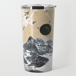 collage art / Wild Nature Travel Mug