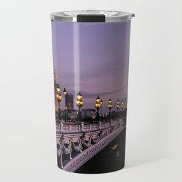 Nights in Paris Travel Mug