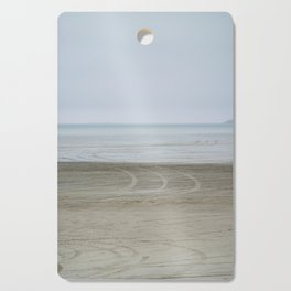 Airport on the beach Cutting Board