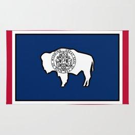 Wyoming State Flag Rug