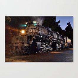 UP 4014. Union Pacific.  Steam Train Locomotive. Big Boy. © J. Montague. Canvas Print
