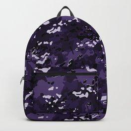Indigo Purple Popular Multi Camo Pattern Backpack