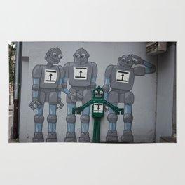 Krakow Robots Rug