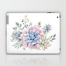 succulent watercolor 1 Laptop & iPad Skin