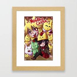 Mogeko Castle Framed Art Print