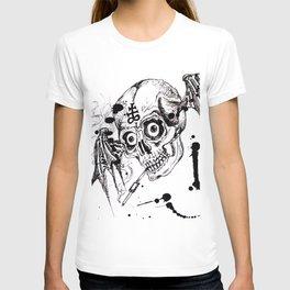 Skull In Stead of Man T-shirt