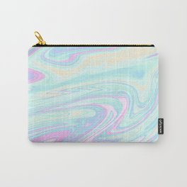Bubblegum Marble Carry-All Pouch