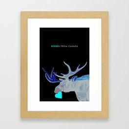 Canada Moose Framed Art Print