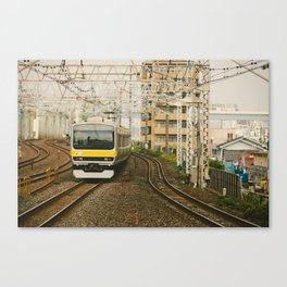 Sobu Line Local Canvas Print