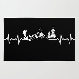 My Heart Beats For Nature Rug