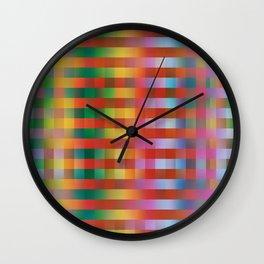 Fall/Winter 2016 Pantone Color Pattern Wall Clock