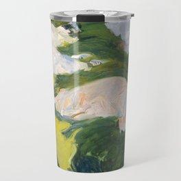 La Siesta by Joaquín Sorolla, 1911 Travel Mug