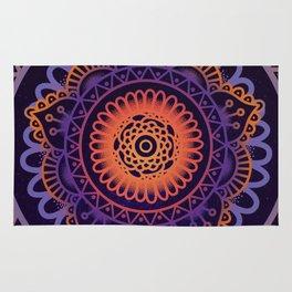 Colourful Mandala of Life Rug