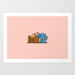Cornell Art Print