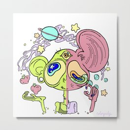 cosmic friiiends Metal Print