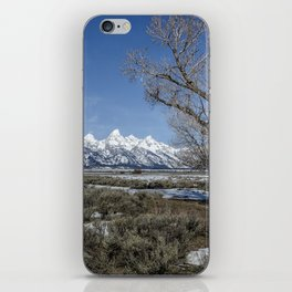 Grand Tetons from Gros Ventre iPhone Skin