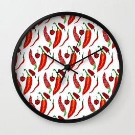 Hot hot hot Wall Clock