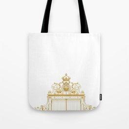 Versailles Golden Gates France Tote Bag