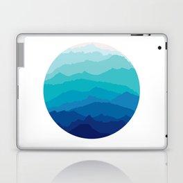 Blue Mist Mountains Laptop & iPad Skin
