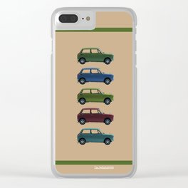 Five Honda's Clear iPhone Case