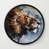 leon Wall Clocks featuring Leon by KOSTART